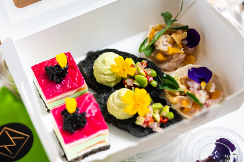 Catered Bento boxes